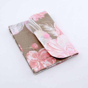 Pochette fiori rosa